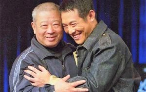 Coach Wu Bin reunites with film star Jet Li