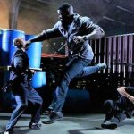 Mike in the final fight sequence of Falcon Rising