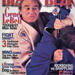 Gene on the cover of Black Belt Magazine