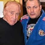 Gene with fellow grappling champ Master Gokor Chivichyan