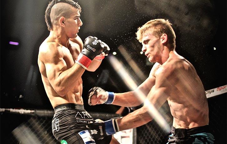 Natan brings the in ring thunder