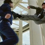 The best of the fighting is between Andrew Lin and Aaron Kwok