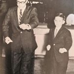 With Robert Lee at the cha cha championships 1958 Courtesy of David Tadman