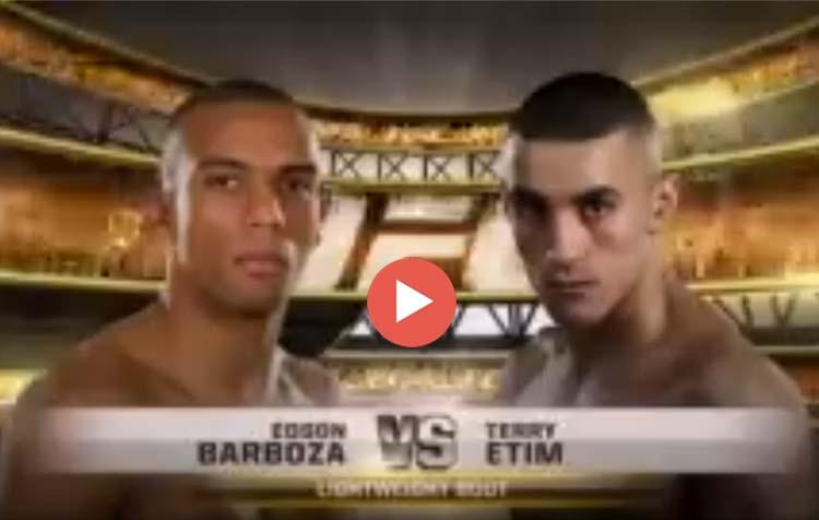 Edson Barboza vs. Terry Etim – UFC 142 (January 14, 2012)