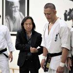 Josh Gold with Jeff Imada, Kenji Yamaki and Sensei Haruo Matsuoka