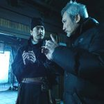 Mark Chao with director Tsui Hark