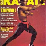 Taimak makes the cover in Inside Karate
