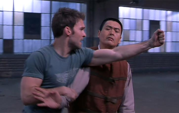 The Monk trains Kar to harness his combat skills