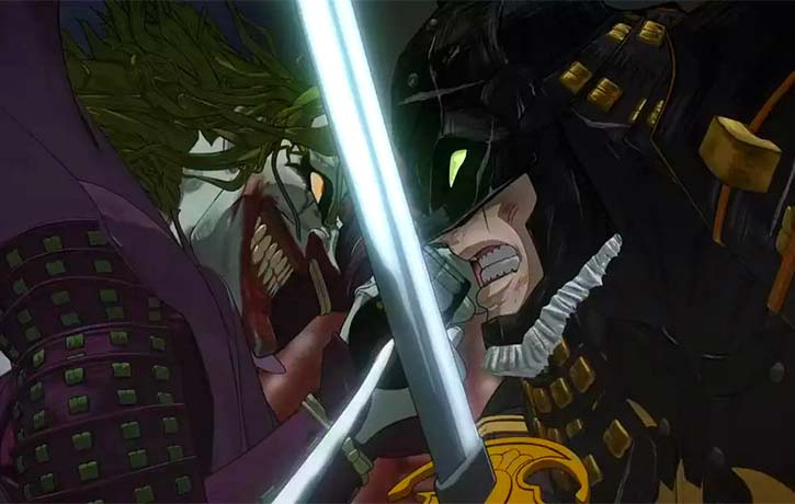 Batman and The Joker face off