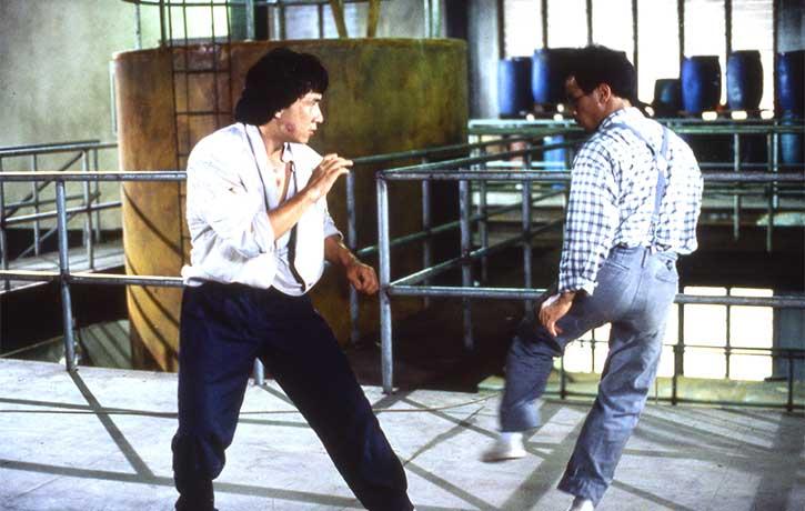 Lais kicking skills easily equal Jackies