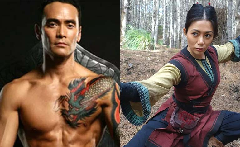 "Mark Dacascos and JuJu Chan board ""Wu Assassins"" Kung Fu Kingdom 770x472"