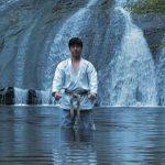 Sensei Matsumura's at one with his zen nature