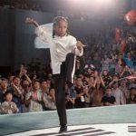 Dre prepares to strike like a snake!
