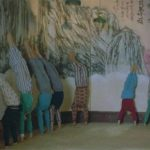 Students were expected to hold a handstand for 2 hours!