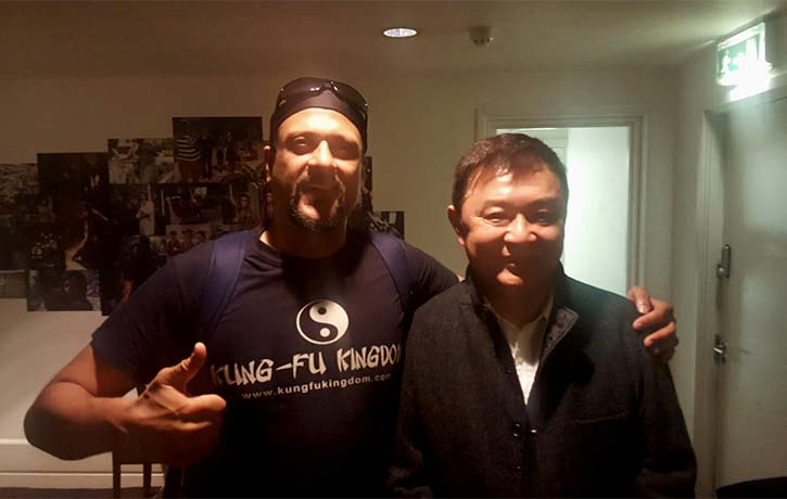 Meeting a legend Tony Ching Siu-Tung