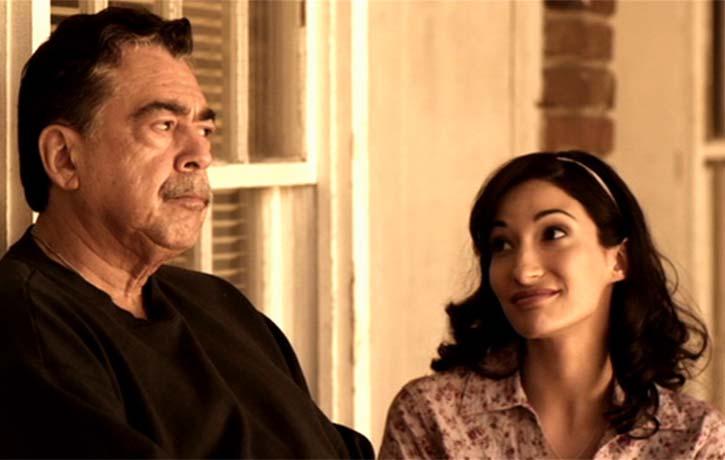Rosanna and her grandpa are very close