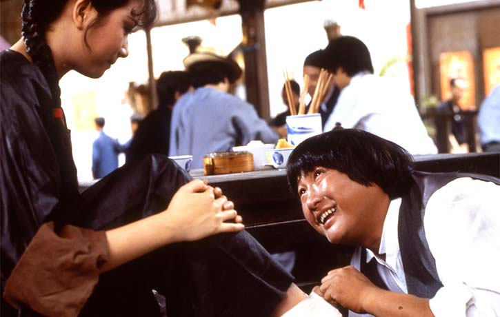 Sammo Hung stars as the hustler Zhuo Yifei