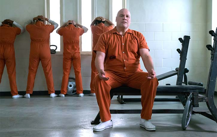 The Kingpin regains power from behind bars