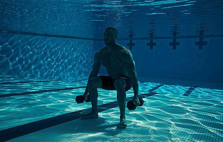 Donnie gets aquatic!