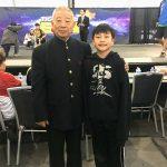 Evan meets Jet Lis wushu coach Wu Bin
