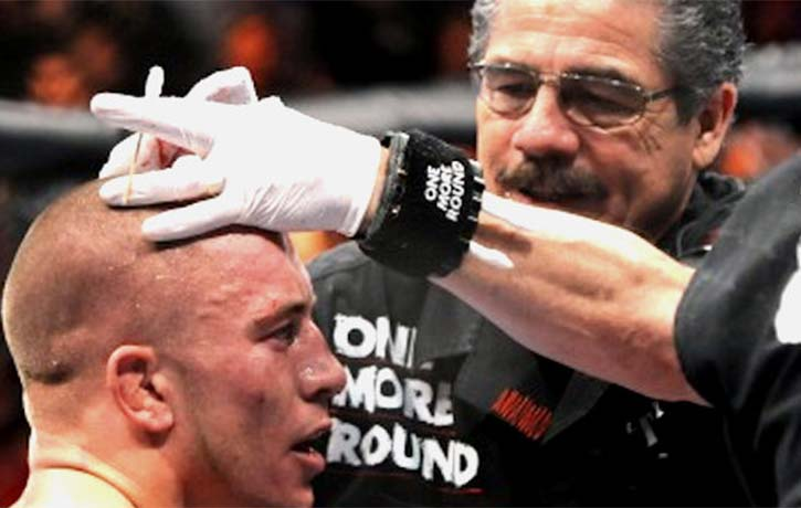Stitch gives Georges St Pierre a clean bill of health