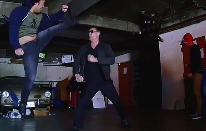 The master Jino Kang in action