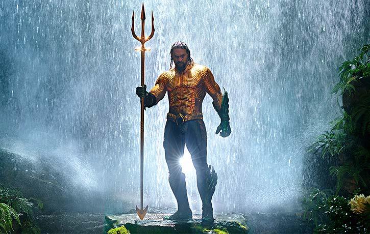 Aquaman brings the torrent