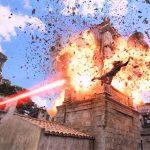 Arthur evades Black Mantas lethal attack