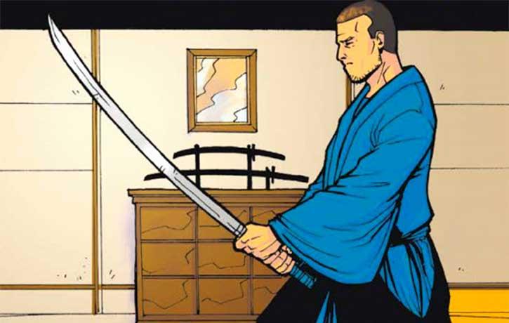 Ben Iwanaga The Last Samurai