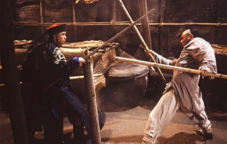 Donnie Yen and Jet Li had one of the finest duels of their careers