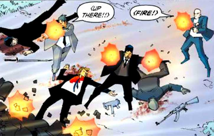 If John Woo did graphic novels...