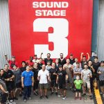 Jon Valera with the stunt team that made the incredible stunts action of Aquaman possible