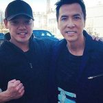 Jon meets Donnie Yen on the set of xXx Return of Xander Cage
