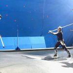 Jon preps Jason Momoa Patrick Wilson for the final fight of Aquaman 1