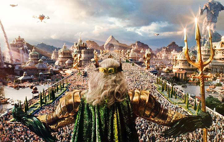 Long before Atlantis sank into the sea King Atlan sat at its throne