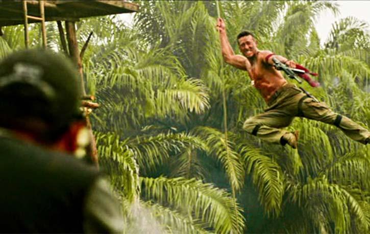 Jungle Fu swingabout