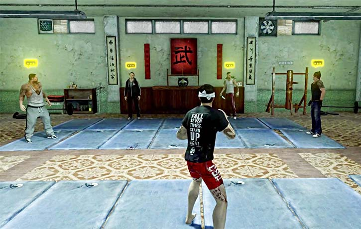 Weis kung fu school is a training ground for melee combat