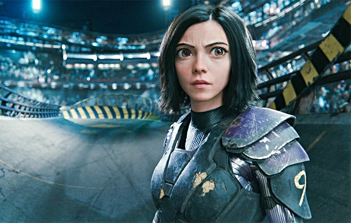 Alita must adapt to challenges in her Motorball debut