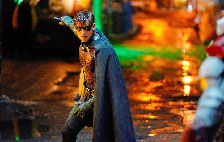 Dick Grayson cant seem to leave his life as Robin behind him