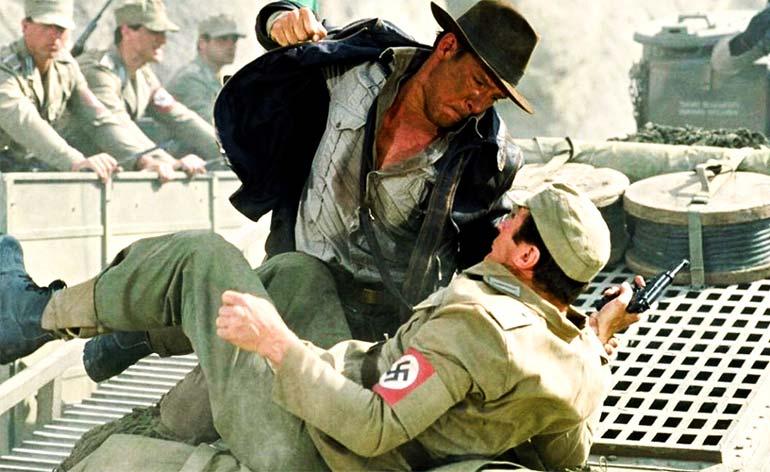 Top 5 Indiana Jones Movie Fights - Kung Fu Kingdom