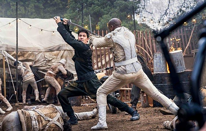Gaius Chau is a master swordsman