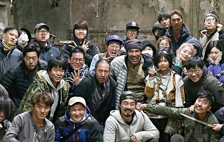 Revenger cast and crew