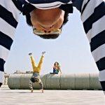 Shigeru Ishihara helped with the skateboard stunts