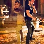 Tony Jaa and Scott Adkins go head to head for the first time in Triple Threat!