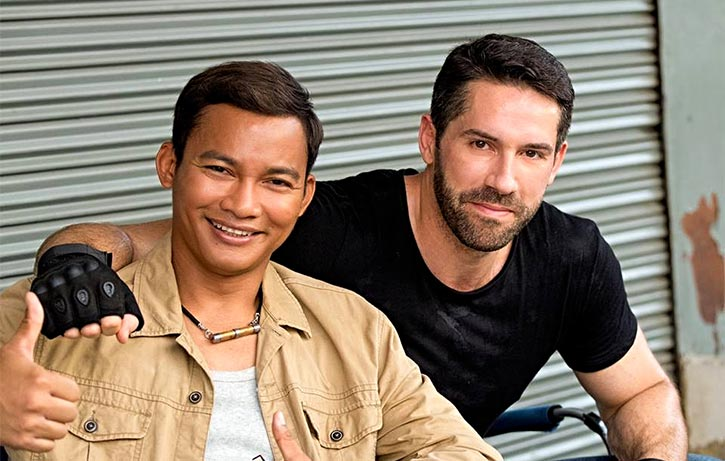 Tony and Scott Adkins combine to bring the trouble
