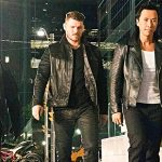 Tony with Michael Bisping and Donnie Yen on xXx Return of Xander Cage