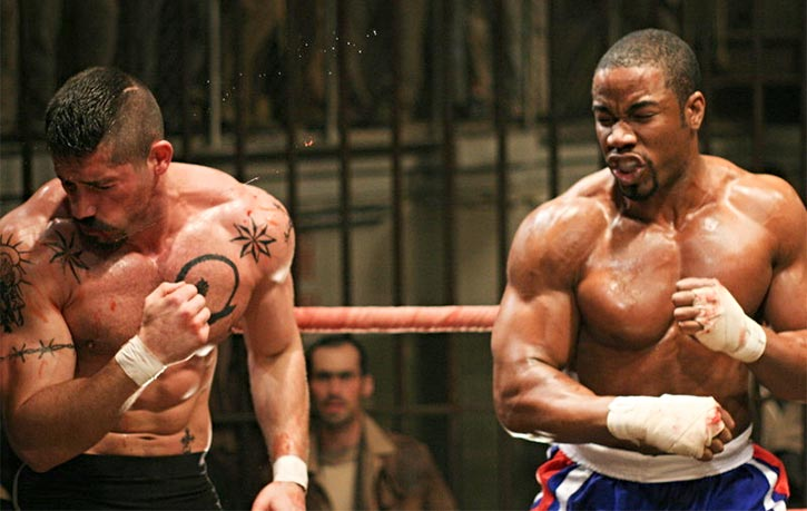 Before Triple Threat Michael Jai White and Scott Adkins were on opposing sides in 2006s Undisputed 2