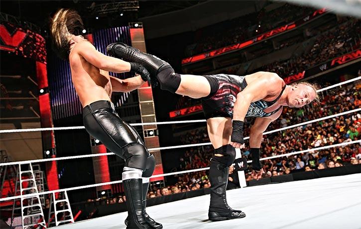 RVDs legendary kicks in the WWE