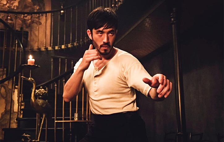 Andrew Koji assumes the role of Ah Sahm in Warrior