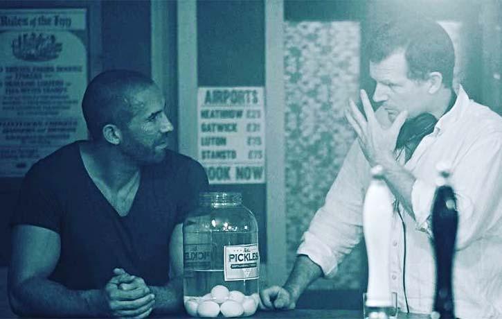 Jesse Johnson talks Scott through a scene in Avengement